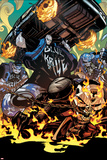 All-New Ghost Rider No 10 Cover  Featuring: Ghost Rider  Blue Hyde Brigade