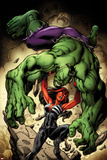 Hulk No 8 Cover  Featuring: Hulk  Red She-Hulk