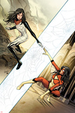 Spider-Woman No 3 Cover  Featuring: Spider Woman  Silk