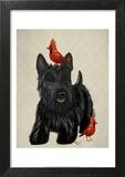 Scottie Dog and Red Birds
