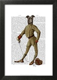 Greyhound Fencer Dark Full