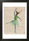 Ballet Deer in Green