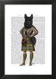Scottish Terrier in Kilt