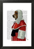 Basset Hound Judge Portrait