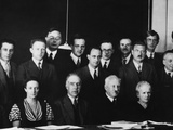 Physicists at the Seventh Solvay Physics Conference  Brussels  Belgium  October 1933