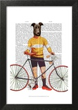 Greyhound Cyclist
