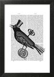 Steampunk Crow
