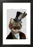 Phileas Feline Steampunk Cat & Top Hat