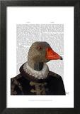 Elizabethan Goose in a Ruff