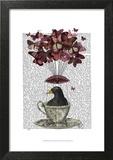 Blackbird In Teacup