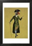Goose in Green Regency Coat