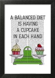 A Balanced Diet Illustration