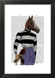 Horse Racing Jockey Portrait