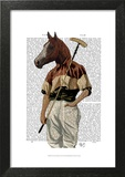 Polo Horse Portrait