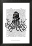 Octopus and Diving Helmet