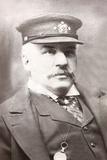 John Pierpont Morgan Sr  in Maritime Uniform Ca 1890
