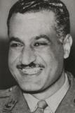 Gamal Abdel Nasser  President of Egypt in 1956