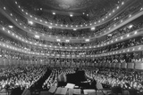 Metropolitan Opera House During a Concert by Pianist Josef Hoffmann  Nov