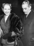Margaret Truman and Clifton Daniel Jr