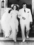 Al Capone's son takes a bride Mr and Mrs Albert Francis Capone