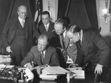 President Franklin Roosevelt Signing the 1934 Crime Bill into Law