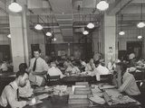 News Room of the New York Times  Sept 3  1942
