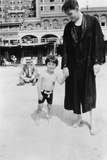 Spencer Tracy and His Deaf Son  John Ten Broeck Tracy  at Atlantic City  New Jersey