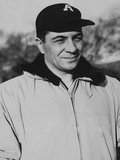 Vince Lombardi When He Was Coach on New York Giants Football Team
