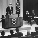 John Kennedy's First Press Conference as President
