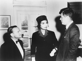 Marian Anderson and Her Accompanist Franz Rupp Welcomed by President John Kennedy