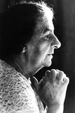Golda Meir  Israeli Prime Minister  Was Elected on March 17  1969