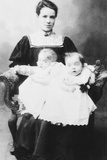 Daisy Hilton and Violet Hilton  Conjoined Twins  at Age 18 Months
