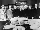 California Supreme Court Judges on August 3  1930