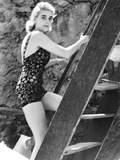 Barbara Hutton  Now Countess Von Haugwitz-Reventlow  Summering on Capri  Italy