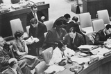 Marian Anderson  African American Opera Singer  as a Delegate at the United Nations