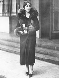 Barbara Hutton  Woolworth Heiress  in London  November 1932