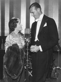 Gloria Swanson Appeared on Smith Balleu's Radio Show in Feb