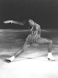 Dorothy Hamill  Star Skater  Performs a 'Ina Bauer' Move