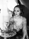 Tallulah Bankhead  on the Paramount Lot  Ca 1932  Plsying with a Nail-Board Game