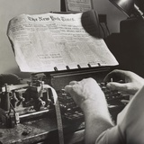 Radio Room of the New York Times Newspaper  Sept 1942