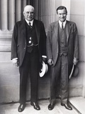 JP Morgan Jr (Left) and Son  Junius Morgan