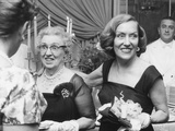 Actress Gloria Swanson (Right) and Her Mother  Mrs Charles Woodruff