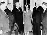 National War Labor Board at the White House Met with President Franklin Roosevelt