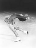 Dorothy Hamill  Star Skater  Performs a Layback Spin