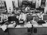 Newsroom of the New York Times