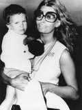 Sophia Loren Holds Her Son  Carlo Ponti  Jr