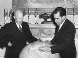 Vice President Richard Nixon Discusses His Far East Trip with President Eisenhower
