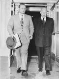 President Eisenhower with Republican Senate Majority Leader William F Knowland