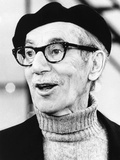 Comedian Groucho Marx at a Press Conference in May 1972