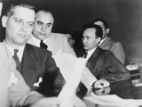 Al Capone  at the Time of His Indictment for Tax Evasion  June 5  1931